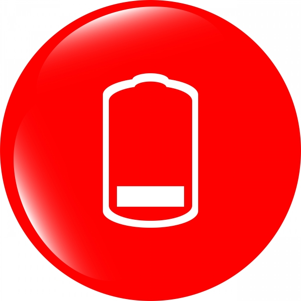 9026983-battery-low-level-sign-icon-electricity-symbol-modern-ui-website-button